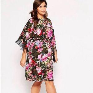ASOS Curve fringe dress